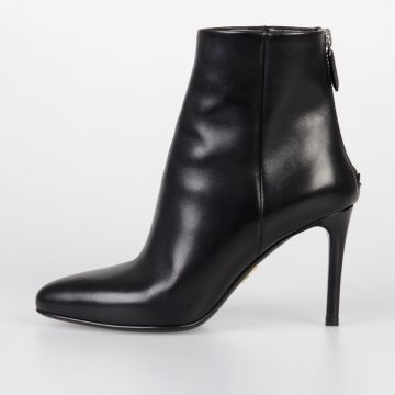 8 cm Leather Ankle Boots