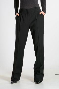 Virgin Wool Blend Trouser