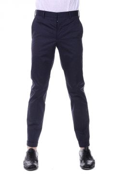 Pantaloni in Cotone Stretch Stampati
