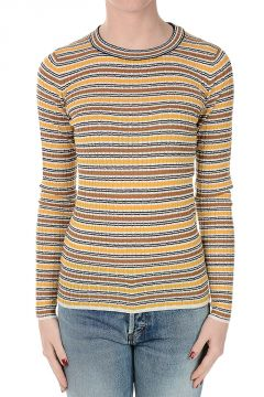 Virgin Wool Striped Sweater