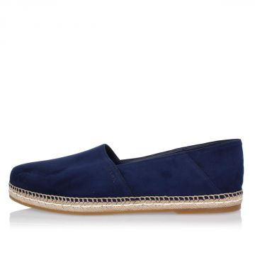 Suede Leather Espadrillas