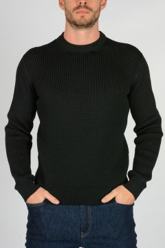 Knitted Round Neck Sweater