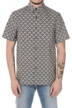 Printed Popeline Cotton shirt
