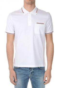 Stretch Cotton Polo T-shirt