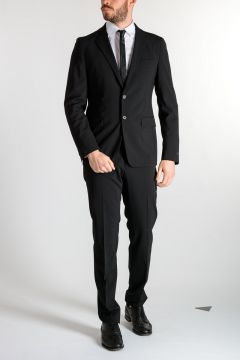 Stretch Virgin Wool Suit