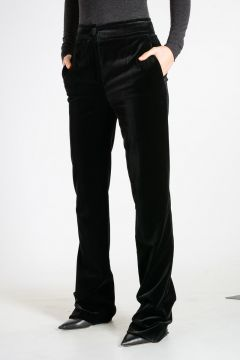Stretch Velvet Trouser