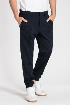 Virgin Wool Jogger Pants