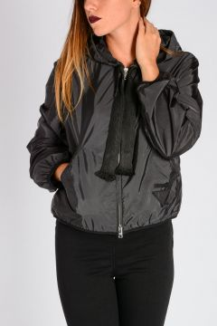 Nylon Hooded K-WAY Jacket