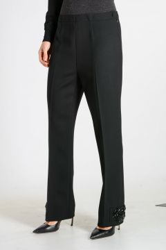 Stretch Wool Blend Trouser