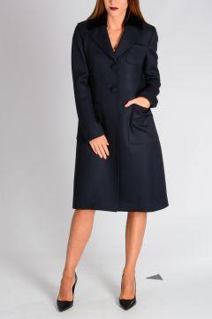 Grain de Poudre Wool Coat