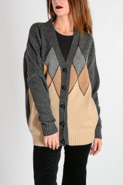 Camel Wool Cardigan