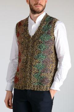 Shetland Argyle Knitted Waistcoat