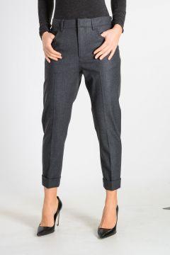 Pantalone Capri in Misto Lana Vergine