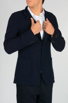 Silk and Wool Blend Jacket
