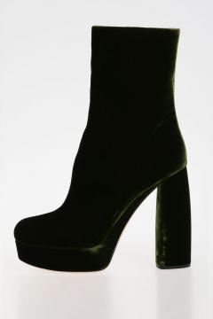 Stivali in Velluto 13 cm
