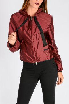 Nylon Hooded K-WAY Jacket