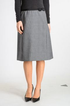 Prince of Wales A-Line Skirt
