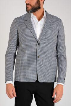 Checked Virgin Wool blend Blazer