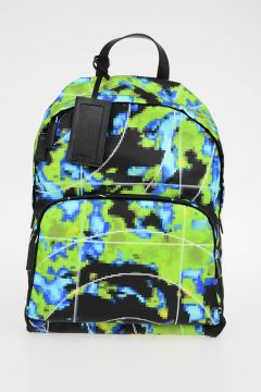 Radar Printed Nylon Backpack