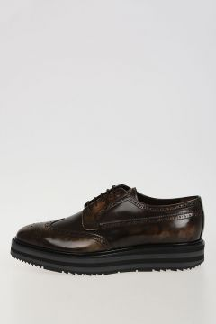 Camouflage Leather Derby