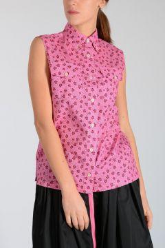 Camicia In Cotone Stampa Tartarughe
