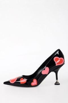 7cm Leather Decollettes