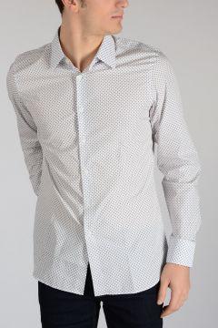 Stars Printed cotton Popeline Shirt