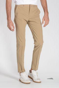 Pantaloni in Popeline di Cotone Comfort