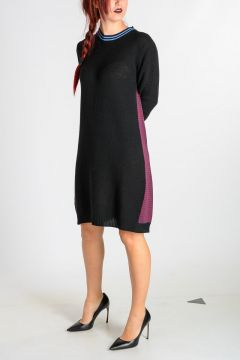 Cashmere Blend Knitted Dress