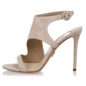 Sandalo in Pelle 11 cm