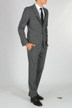 Single Breasted Virgin Wool Suit