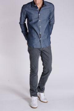 Jeans in Denim Slavato 19 CM