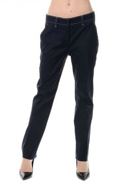 Pantalone in Misto cotone Stretch