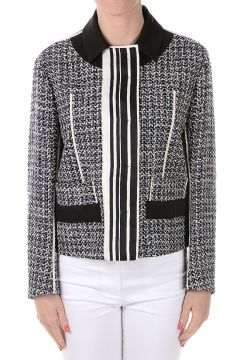 Cotton Silk and Virgin Wool Blend Blazer