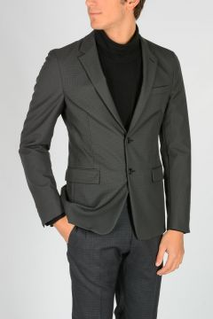 Techno Stretch Fabric Blazer