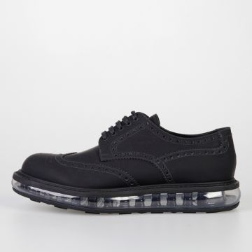 Brogue Leather CALF RUBBER Derby Shoes