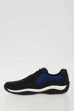 Blue Black Bi color Sneakers