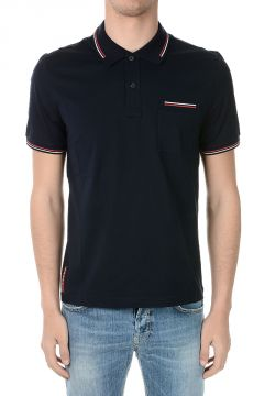 Stretch Cotton Polo T-shirt