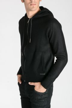 Wool & Cashmere Hooded Sweater