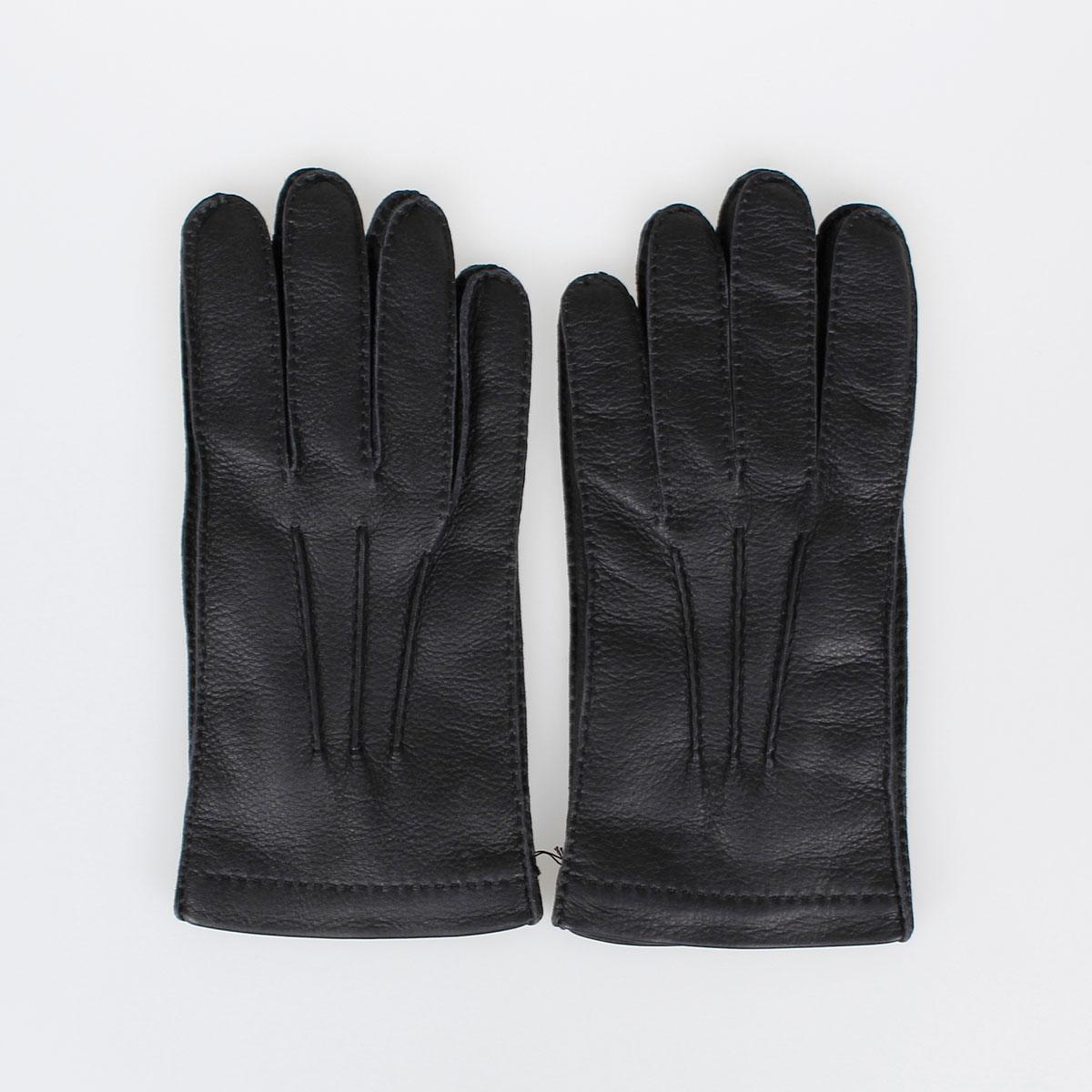 Prada Mens Leather Gloves - Deer skin leather gloves