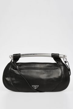 Nappa Leather Hobo Bag