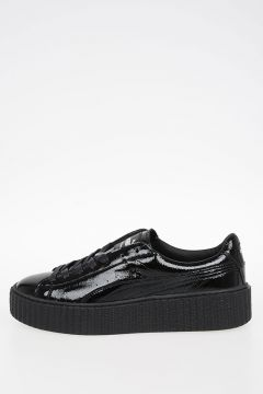FENTY BY RIHANNA Leather CREEPER WRINKLED PATENT Sneakers