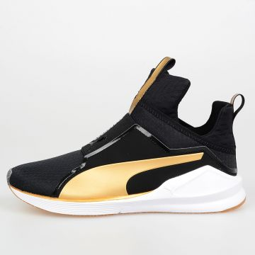 Sneakers FIERCE GOLD in Tessuto