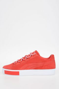 Leather COURT PLATFORM  Sneakers
