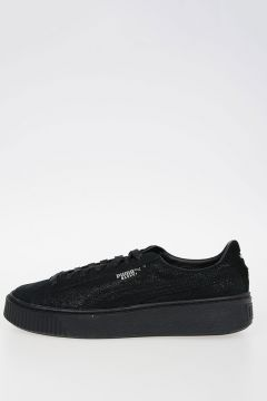 Leather BASKET PLATFORM RESET Sneakers