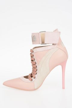 FENTY BY RIHANNA 10 cm Leather LACE UP HEEL Pumps