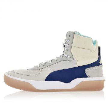 Sneakers Alte McQ BRACE MID in Pelle