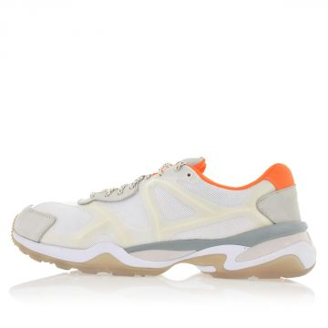 Sneakers McQ RUN LO in Pelle e Tessuto