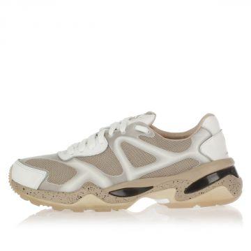 Sneakers Basse McQ RUN LO WN'S in Pelle e Tessuto