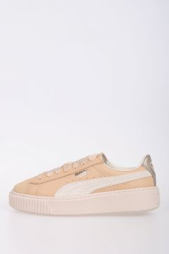 Leather PLATFORM UP Sneakers